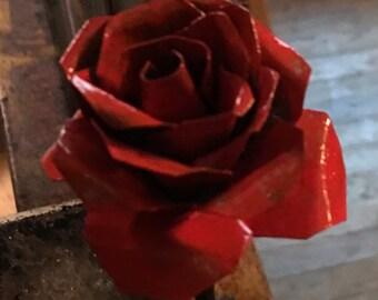 Red Steel Rose!