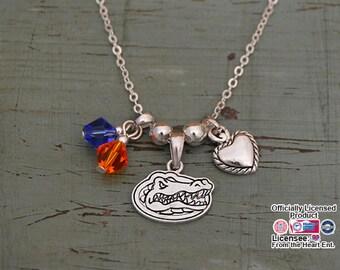Florida Gators Memory Necklace