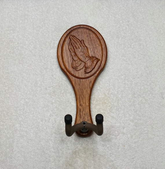 Guitar hanger praying hands player by uniquewoodworker