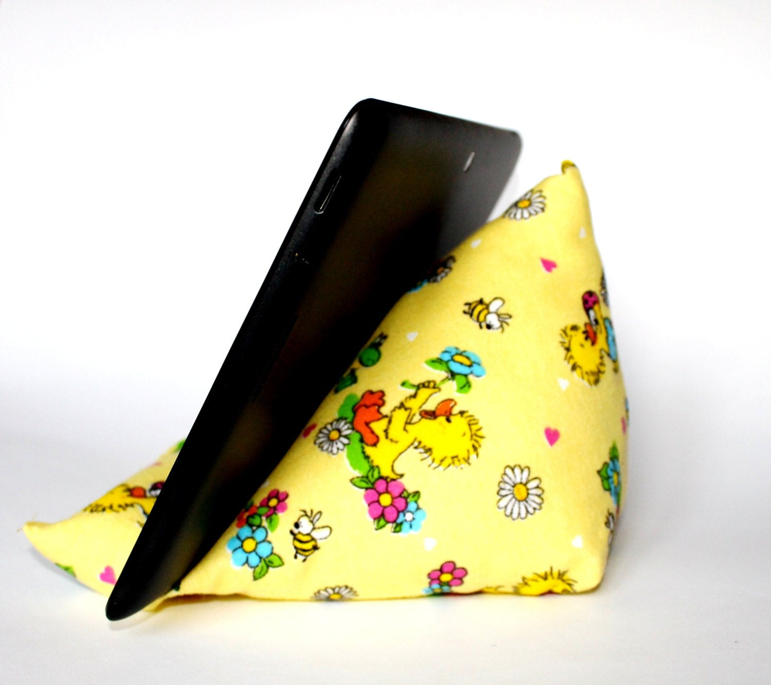 kids reading pillow soft tablet stand for children duckling