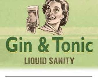 Gin & Tonic Magnetic Memo Pad