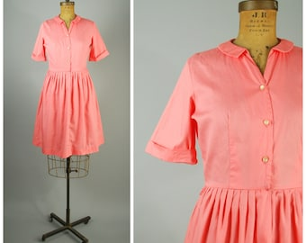 Antipathes dress • 1960s shirtwaist dress