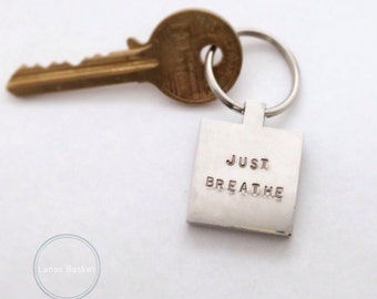 Just Breathe - Keyring