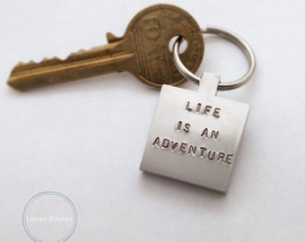 Life Is An Adventure - Keyring