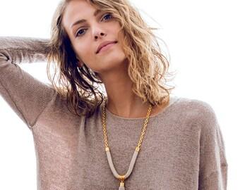 Tassel Necklace, Stone Tassel Necklace, Long Tassel Necklace, Long Layering Necklace, Long Boho Necklace, Boho Jewelry, Boho Fashion
