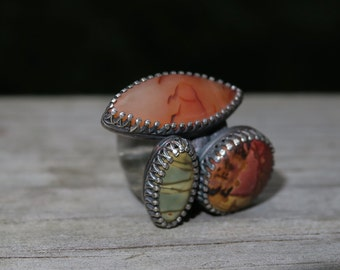 Large Stone Statement Ring