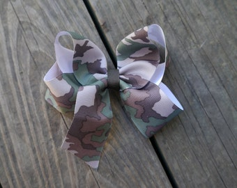 Camo Boutique Bow