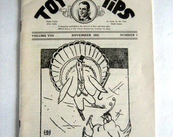 Gilbert Toy Tips by A.C. Gilbert, November 1922
