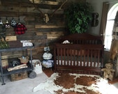 OKLAHOMA Nursery Collection - Rustic Country Western Baby Bedding