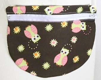 Owl Fanny Pack - Fanny Pack - Waist Bag - Hip Pouch - Small Bag - Travel Pouch - Travel Bag - Belly Bag - Waist Pouch - Owl Accessory