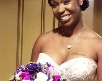 Bridal Forehead Band ~ Pearls ~ Bridal Headband ~ Rhinestones ~ Swarovski Crystal ~ Wedding Headband ~ Vintage Bridal ~Headpiece Heaven