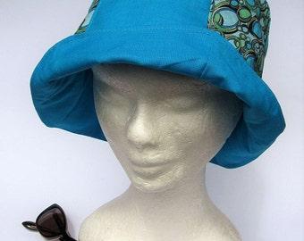 women's summer hat, handmade, vintagestyle,