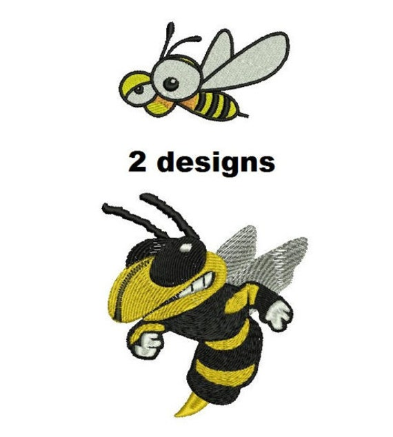 Designs bee embroidery patterns machine