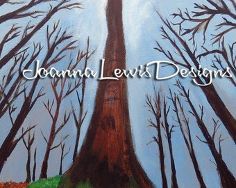 Tree Heart - Signed Original Art