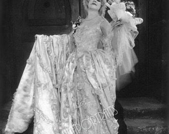 "THEDA BARA 5x7 or 8x10 Photo Print Hollywood 1917 ""Madame Du Barry"" ""Witzel"" Glamour VAMP,  Vintage Golden Age of Hollywood Portrait"