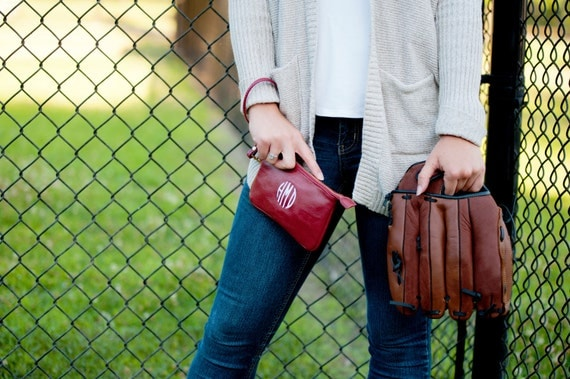 Monogrammed Wristlet, Burgundy Wristlet, Monogrammed Wallet, Monogrammed Gifts, Personalized Gifts, Gifts for College Students