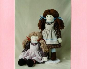 Simple Sally - Cloth Doll Pattern (PDF)