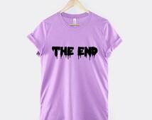 Pastel Goth T-Shirt - The End Pastel Goth Clothing TShirt Pastel Colour T-Shirt
