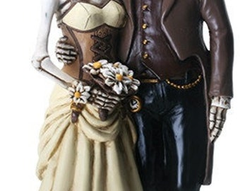 Steampunk Wedding Cake Topper