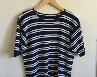 Striped Acrylic Top