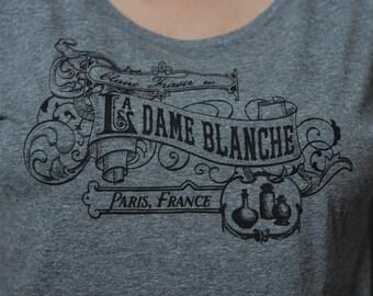 T-Shirt La Dame Blanche Victorian Parisian Dolman Shirt