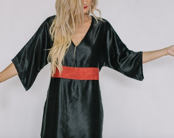 Luster Hemp Silk Dress