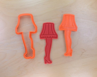Leg Lamp Cookie Cutter and Stamp Set