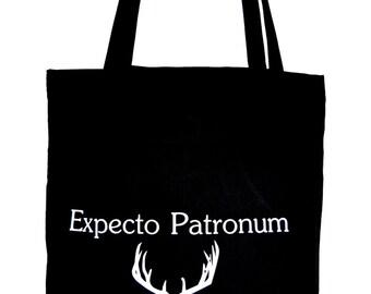 Jute bag Expecto Patronum