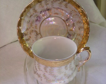 Trina Miniature Teacup and Saucer