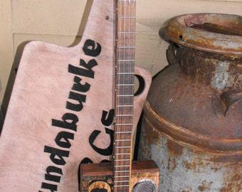 Custom 4 string  cigar box guitar