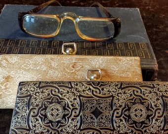 Vintage Asdor Eye Glasses with 2 Cases Mid Century