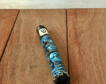 Ceramic Mezuzah Tube Only,Jewish Home Blessing, Made to Order, Turquoise Modern Mezuzah,Religious Prayer,Housewarming Gift,Judaica, Israel