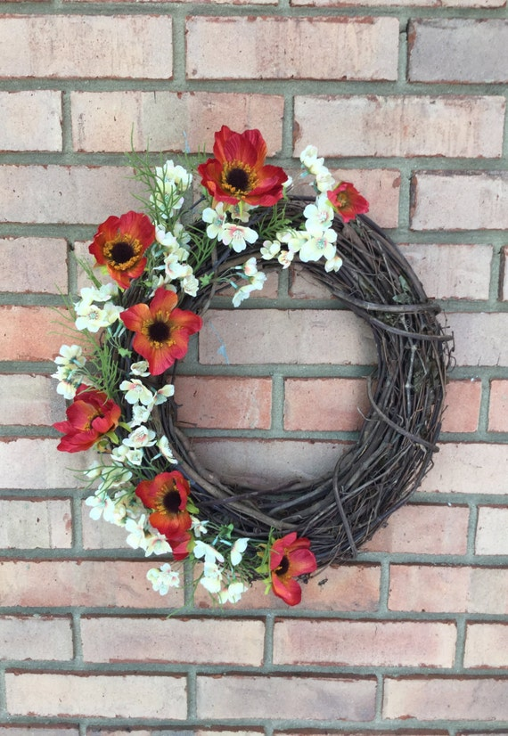 Outdoor Wreath Year Round Spring Wreaths For Front Door Fall
