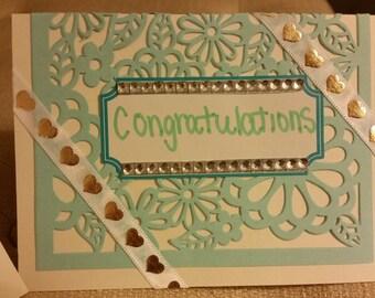 Congratulations Card: Wedding/Engagement