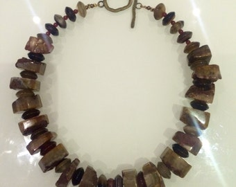 Rocks n Honey Necklace