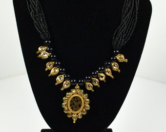 Indian style Multi stranded necklace