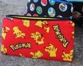 Pokemon Pencil Case or Coin Purse