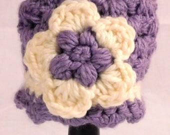 Girl's Beanies- Winter Beanies- Purple