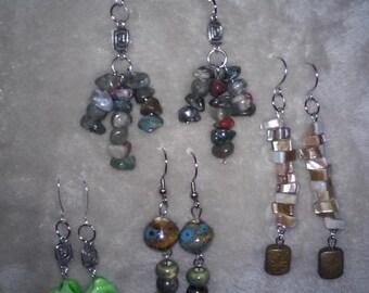 Boho Fashion Stone Earrings
