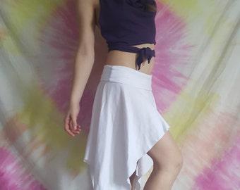 Pixie Skirt/ fairy skirt/ gypsy skirt/flow clothes/flow skirt/festival clothing/festival skirt/burning man clothing/women clothing