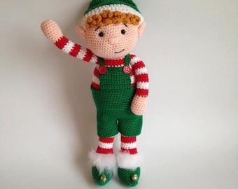 Christmas Elf - Yarn & Crochet Pattern Pack