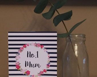 No1 Mum Card