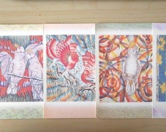 Cards - Bird Card - Australian Bird Painting (Set of 5)