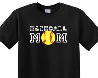 BASEBALL MOM - T-Shirt