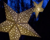 Paper Star Lantern w Tiny Stars - SVG CUTTING FILE Pdf special occasion, luminary, lighting, design, pattern, template, decoration, part