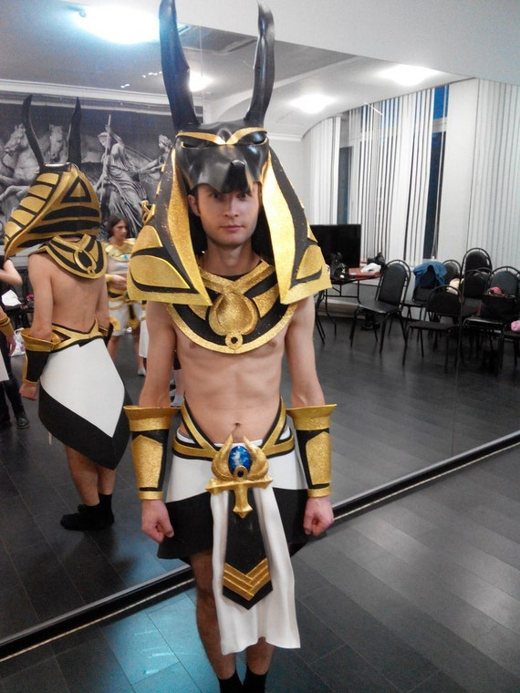 Costume anubis egypt hallowen