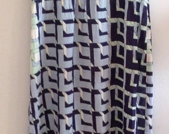 Geometric Print AntikBatik Summer Maxi Dress