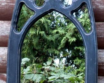 Vestry Interior Gothic Mirror.
