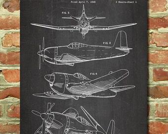aviation decor aviation art poster aviation print airplane wall decor vintage air - Aviation Decor