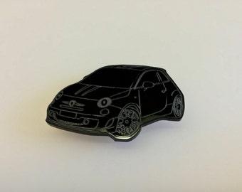 Fiat 500 Abarth Biposto Fridge Magnet - Fathers Day Gifts - Italian Cars - Ferrari Maserati - Seen Through Glass - Multiple Colours